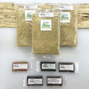 Florida Microgreens basic subscription for home kit - 5 seed packs - 15 hemp mats
